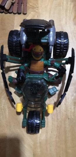 奥迪双钻(AULDEY) 奥迪双钻忍者神龟玩具 莱昂纳多战车男孩动漫模型公仔套装 导弹发射摩托794057+米开朗基罗 晒单图
