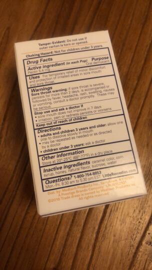 小鼻子Little Remedies 棒棒糖 天然蜂蜜 10支装 晒单图