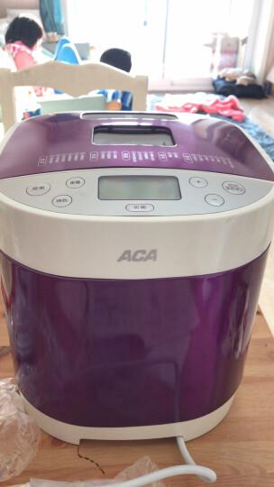 北美电器(ACA)面包机家用和面机早餐机烤面包机蛋糕机揉面机全自动可预约智能撒果料AB-3CM03 晒单图