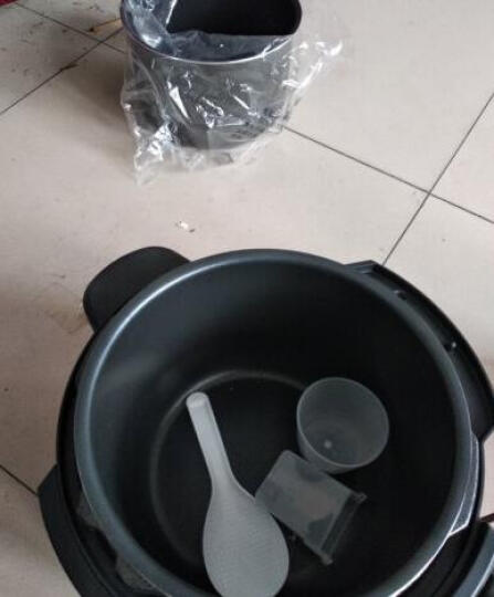 美的(Midea)电压力锅6升双胆大容量高压锅 一键排气 七段调压 开盖收汁 WQC60A5(李现推荐) 晒单图