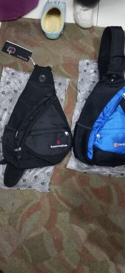 SWISSGEAR胸包男女 防泼水时尚休闲胸包三角斜挎包 户外运动单肩包旅行小包 SA-9966红色 晒单图