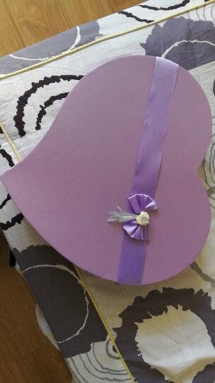 I'M HUA HUA100朵紫色渐变玫瑰花香皂花礼盒礼品鲜花速递同城七夕情人节礼物生日礼物纪念日送女生 晒单图