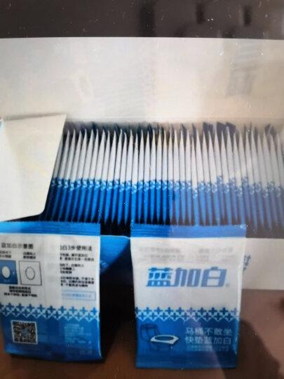 蓝加白 一次性马桶垫  随身装 (8片单片装/盒) 旅行旅游加厚坐垫纸 产妇孕妇防水隔菌坐便套 晒单图