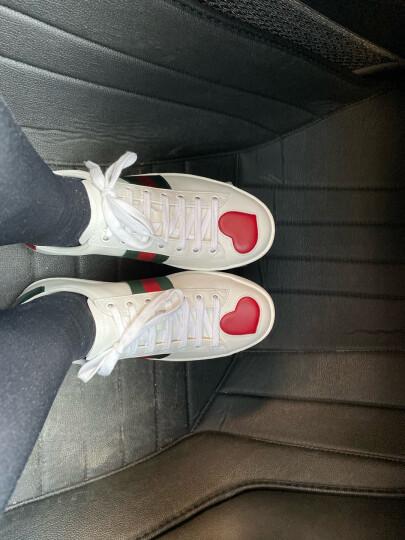 古驰 GUCCI GUCCI女鞋 白色牛皮休闲女士平底鞋 435638 A38M0 9074 37 晒单图