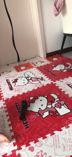明德Meitoku HelloKitty泡沫地垫 爬行垫红+白色卡通拼图地垫拼接地垫60*60*1cm(4片装) 晒单图