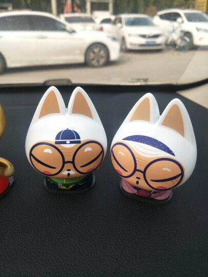 拽猫(ZhuaiMao) 汽车摆件挂件 卡通创意车内饰品 抖音车载公仔 家居办公桌面摆饰白头偕老情侣套装 晒单图