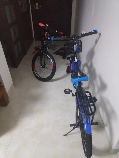 捷力达(JIELIDA) 儿童山地自行车6-10-15岁18/20/22寸男女小孩学生单车 黑色 单电单曲无遥控 晒单图