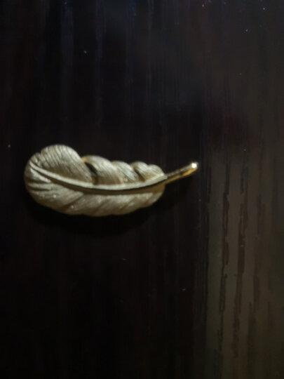 周生生 黄金吊坠足金爱情密语系列羽毛吊坠 不含黄金项链 86820P 计价 2.28克(含工费100元) 晒单图