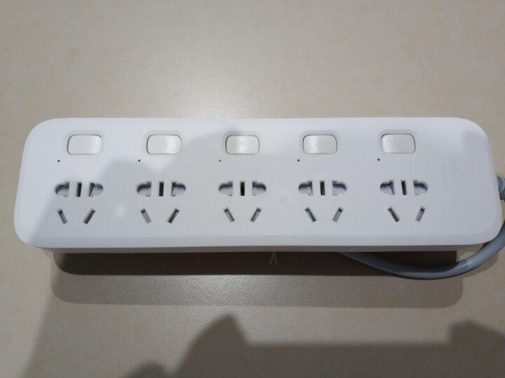 公牛插座 带儿童防触保护门接线板 插排插座 拖线板5插位B5053新国标 5插 全长1.8米 晒单图