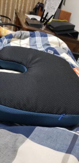 佳奥 竹炭记忆棉椅子坐垫 学生办公休闲透气坐垫【金镶玉竹炭款】 晒单图