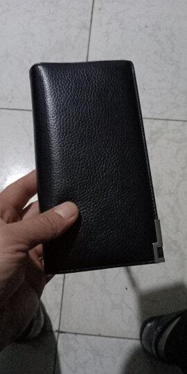 英皇保罗钱包男长款头层牛皮男士钱包拉链卡包钱夹 商务手拿包 POLO129 黑色 晒单图
