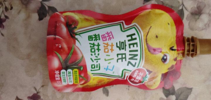 亨氏 (Heinz) 4段 婴幼儿辅食 宝宝零食 苹果蜜桃玉米南瓜蔬菜泥 乐维滋婴儿水果泥120g(1-3岁适用) 晒单图
