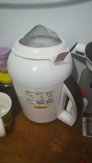 苏泊尔(SUPOR) 豆浆机破壁豆浆机免滤家用全自动多功能 经典款(粉色) 晒单图
