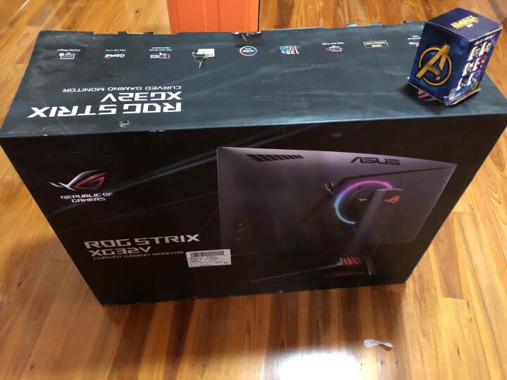 华硕(ASUS)ROGSTRIX XG32VQ 31.5英寸 1800R 144HZ 2K Free-Sync旋转升降 吃鸡电竞显示器(HDMI/DP) 晒单图