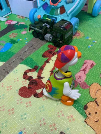 汇乐玩具(HUILE TOYS)808 益智玩具男孩女孩六一儿童节礼物 EQ摇摆大黄鸭 婴儿宝宝电动音乐玩具 万向避障 晒单图