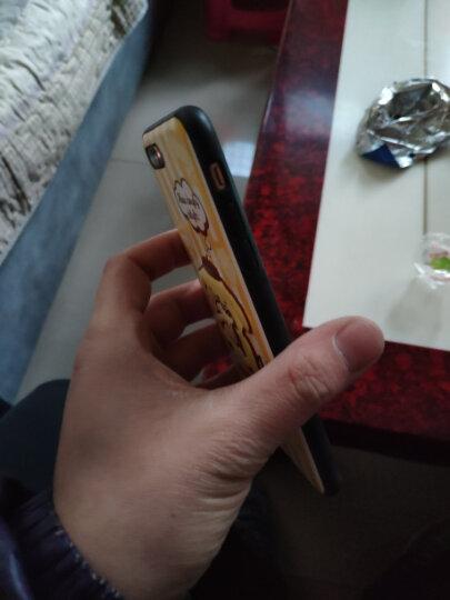 Hello Kitty 苹果SE2/8/7钢化膜 iphoneSE2/8/7手机膜高清防爆裂防指纹软边彩膜贴膜 棉花糖凯蒂红 晒单图