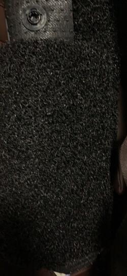 【入仓脚垫】固特异(Goodyear) 丝圈汽车脚垫 适用于2017-2019款奥迪A4L专用脚垫 飞足plus系后排分体黑色 晒单图