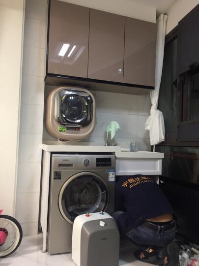 大宇(DAEWOO) 原装进口小型迷你壁挂式滚筒洗衣机全自动儿童婴儿宝宝 XQG30-888G香槟金 晒单图