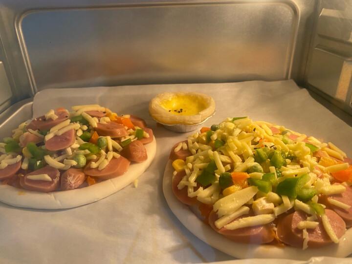 俏侬 披萨饼底 20cm 5片装 780g/盒 (9英寸烤盘适用)烤箱烘焙 冷冻 产品升级为5片装 晒单图