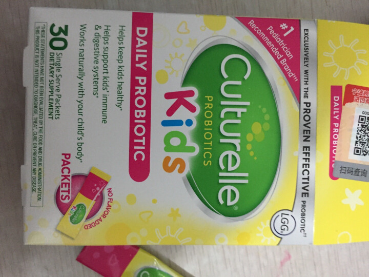 Culturelle 美国原装康萃乐 for kids婴幼儿童宝宝LGG益生菌粉调理肠胃湿疹 一盒30袋 晒单图
