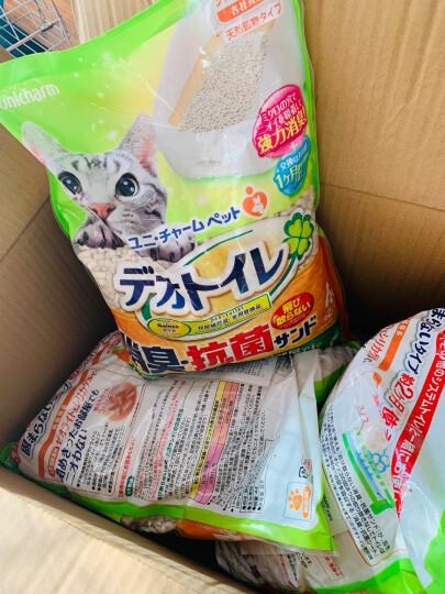 日本进口 佳乐滋(Gaines)双层猫砂盆适用沸石猫砂 4L 干湿分离 干垃圾 晒单图