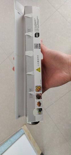 【铝箔纸50米】展艺锡纸烤箱家用锡箔纸经济装烧烤厨房烤盘空气炸锅烘焙油纸 晒单图