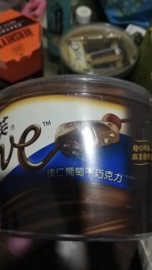 德芙 Dove分享碗装 榛仁葡萄干巧克力 新年春节休闲零食员工福利243g 晒单图