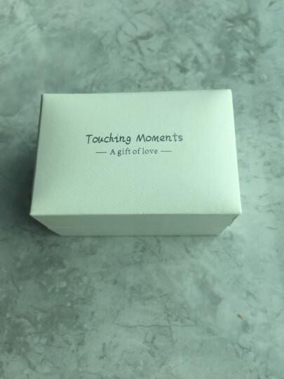 【免费刻字】情侣戒指999纯银开口网红戒指一对素圈对戒学生男女款时尚个性镀白金求婚结婚戒子情人节礼物 情侣定情一对价 晒单图