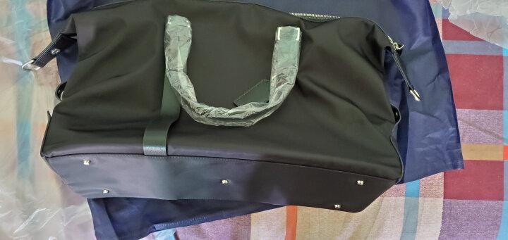 博牌Bopai旅行包 手提行李包男女健身包 休闲旅行袋短途旅游包大容量黑色32-01731 晒单图