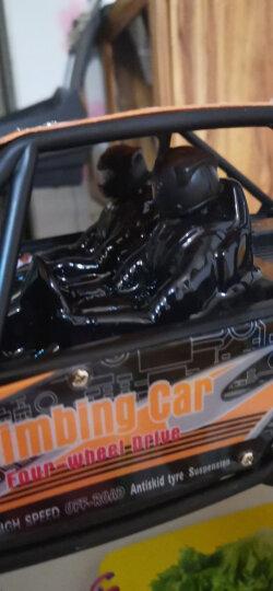 美致模型(MZ) 遥控汽车大脚攀爬车48cm车身超大号礼盒高速四驱越野赛车汽车模型儿童玩具男孩礼物 钻石橙 晒单图