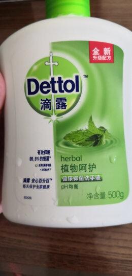 滴露Dettol 健康抑菌洗手液 植物呵护 500g/瓶 易冲洗 晒单图