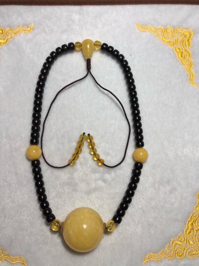 全年无休木智源(MUZHIYUAN) 印尼料椰壳苹果圆佛珠108颗手串锁骨链5-11桶珠椰蒂10圆珠 精品椰蒂8圆 晒单图