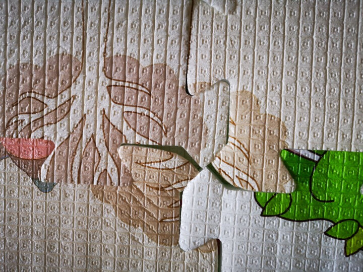 贝博氏WTPJ-61双面扣扣地垫宝宝爬行垫拼接垫加厚拼图爬爬垫海底字母(60cm*60cm*2cm*6片装) 晒单图
