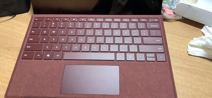 微软 Surface Pro 特制版专业键盘盖 深酒红 | Alcantara欧缔兰材质 Surface Pro 7及Pro 6/5/4/3代产品通用 晒单图