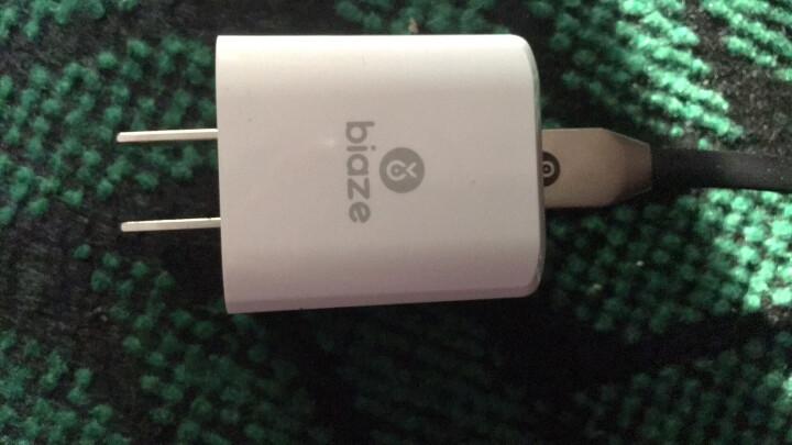 毕亚兹 苹果充电器套装 2A手机充电插头+锌合金苹果数据线1.2米 支持iPhone11Pro/XsMax/XR/8/7/6s/iPad 2920 晒单图