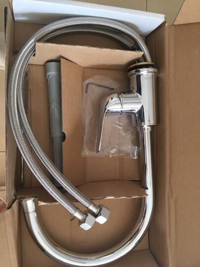 摩恩(MOEN)全铜冷水热水龙头 家用万向可旋转厨房净铅龙头 洗菜盆水槽龙头GN60201 晒单图