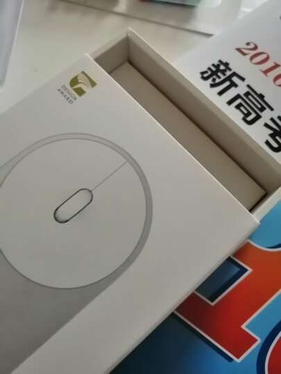小米 便携鼠标 无线蓝牙4.0 男女生家用/笔记本电脑办公/鼠标 金色 晒单图