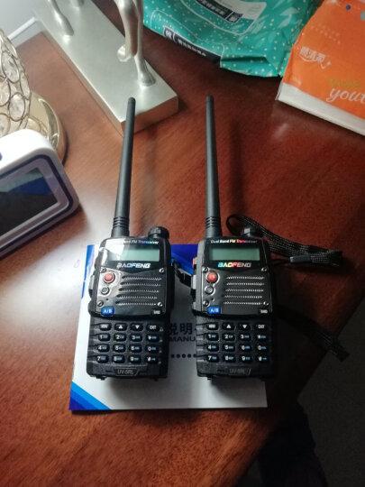 宝锋(BAOFENG) 5R双频双段手动调频对讲机自驾游登山户外旅行车队酒店KTV 5RL  抗摔耐用 晒单图