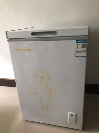 美菱(MeiLing)  98升 小型家用 冷藏冷冻变温 冰柜 卧式  BC/BD-98DT 晒单图