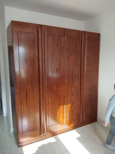 光明家具 实木衣柜 储物二门三门四门可选2172 四门衣柜 晒单图