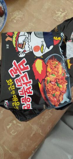 韩国进口(SAMYANG) 三养辣鸡肉味拌面 700g(140g*5包入)超辣火鸡面 方便面泡面袋面速食零食品 晒单图