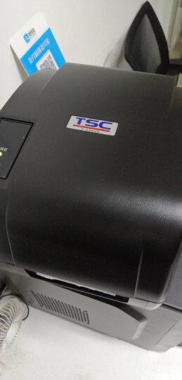TSC条码打印机 T4503E/T4502E/T300A标签打单机 热转印不干胶票据快递电子面单打印 T-4503E【300dpi】-带切刀 晒单图