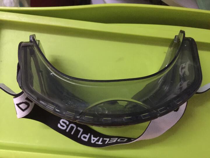 代尔塔 护目镜防护眼镜户外骑行防雾防冲击喷溅防风沙尘101104 晒单图