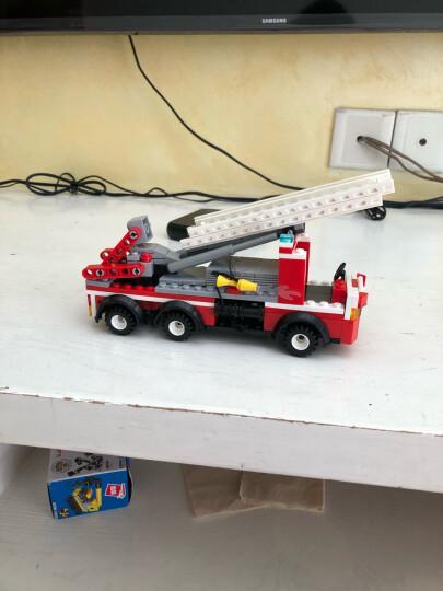 积高(COGO)消防系列积木 (24款造型消防机器人、飞机、巡逻车) 塑料拼插男女孩玩具 13018礼物 晒单图
