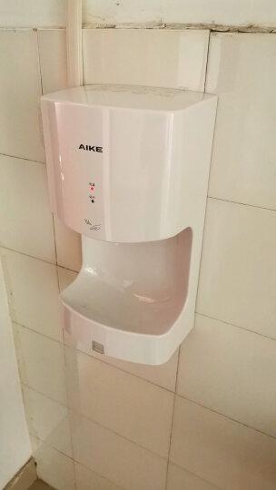 艾克(AIKE)高速干手器酒店餐饮卫生间冷热风干手机全自动感应免接触干手器AK2630T AK2630T银色 晒单图