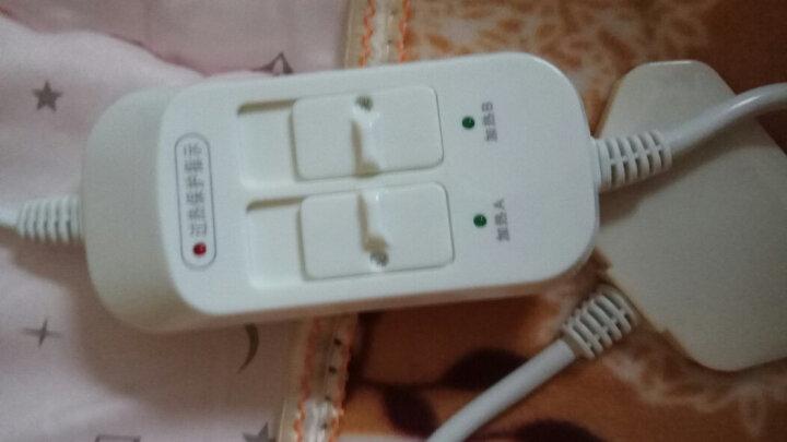 赛亿(Shinee)单人单控电热毯/电褥子/加热暖身毯/取暖器家用/取暖电器/电暖器/电暖气/床上取暖毯TB101 晒单图