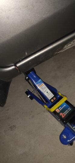 通润(TORIN)银色低位立式液压千斤顶 汽修工具 小车轿车面包车用换轮胎起重工具 3吨带塑盒 晒单图