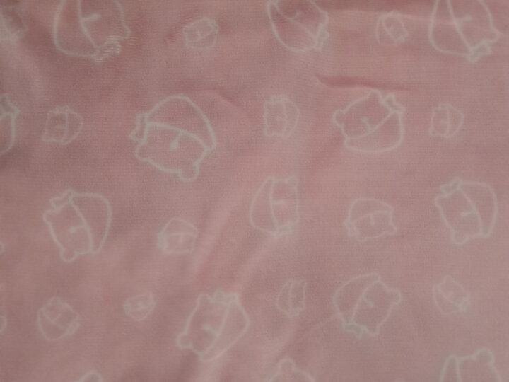 南极人护膝毯 加热毛绒毯发热垫暖身毯护肩暖腰电暖坐垫办公室护腿毯子单人小电热毯电褥 双面绒可水洗65*100cm【咖啡+米黄】 晒单图