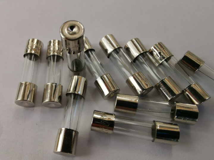 保险丝 保险管 保险丝5*20mm保险管0.5A1A2A3A6A8A10A高温熔断器家用保险丝保险管 7A-10只装 晒单图