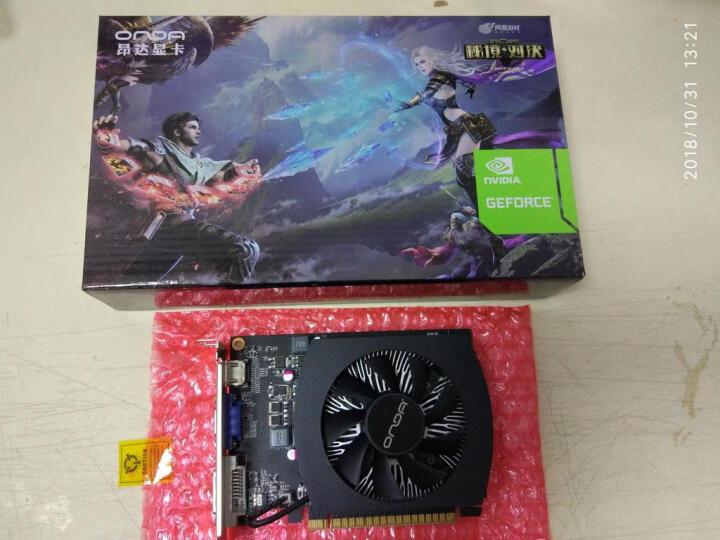 昂达(ONDA)GTX750Ti典范2GD5 1085/5400MHz 2GB/128bit DDR5显卡 晒单图